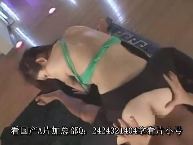 【無料エロ動画】色白巨乳お姉さんがローションま...