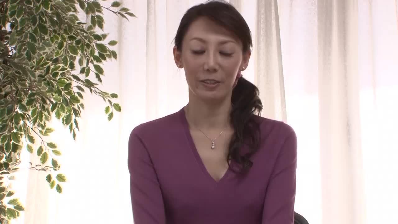 【宇喜多かすみ/35歳/初撮りドキュメント企画】素人の美熟女がアダルトビデオに出演するAVデビュー作品