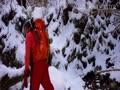 金剛山ツツジ尾の氷瀑